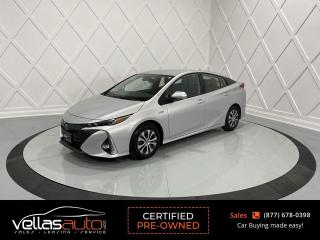 Used 2020 Toyota Prius Prime Upgrade UPGRADE| TECHNOLOGY PKG| NAVI| LEATHER for sale in Vaughan, ON