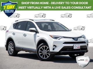 Used 2017 Toyota RAV4 Hybrid Limited Fully Equipped Hybrid Technology for sale in Welland, ON