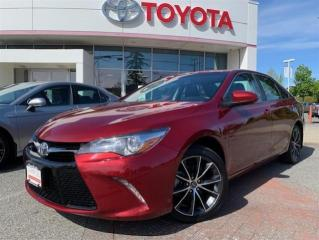 Used 2017 Toyota Camry 4-Door Sedan XSE 6A for sale in Surrey, BC