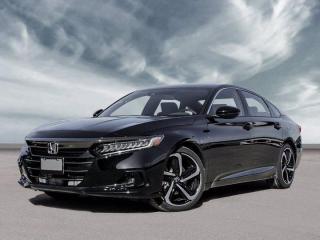 New 2021 Honda Accord Sedan SE for sale in Corner Brook, NL