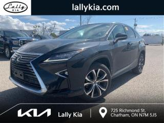 Used 2018 Lexus RX 350 RX 350 3.99% rate! NAV * Roof * Low kms for sale in Chatham, ON
