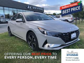 New 2021 Hyundai Elantra Ultimate w/Two-Tone Interior for sale in Sudbury, ON