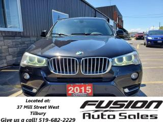 Used 2015 BMW X3 xDrive28i-AWD-PANORAMIC SUNROOF-REAR CAMERA for sale in Tilbury, ON