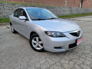 Used 2008 Mazda MAZDA3 GS,NO ACCIDENT, CERTIFIED for sale in Mississauga, ON