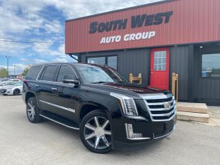 Used 2016 Cadillac Escalade Premium|NAV|Htd& Cooled Lthr Seats|PwrLiftGate|DVD for sale in London, ON