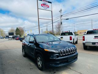 Used 2014 Jeep Cherokee Sport Remote Start Clean Car Fax Heated Sea for sale in Truro, NS