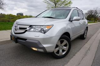Used 2008 Acura MDX ELITE PACKAGE / NO ACCIDENTS / WELL MAINTAINED for sale in Etobicoke, ON