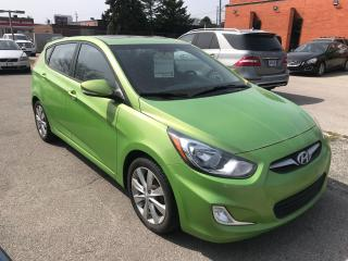 Used 2014 Hyundai Accent GLS,ROOF,ALLOY,B/TOOTH,SAFETY+3YRS WARRANTY INCLUD for sale in Toronto, ON