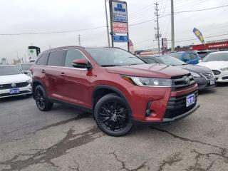 Used 2019 Toyota Highlander No Accidents| 1Owner | AWD |XLE |7 pass| Certified for sale in Brampton, ON