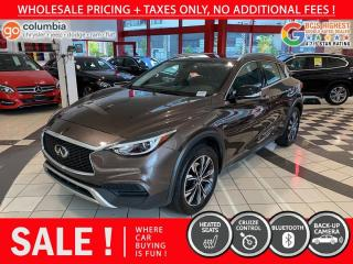 Used 2018 Infiniti QX30 QX30 AWD - No Accident / One Owner / No Dealer Fees for sale in Richmond, BC