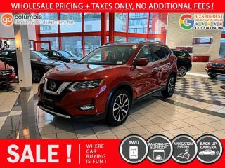 Used 2017 Nissan Rogue SL AWD - Local / One Owner / No Dealer Fees / Nav for sale in Richmond, BC