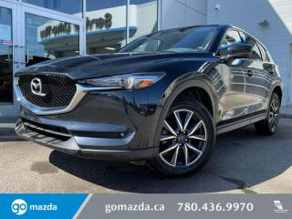 Used 2018 Mazda CX-5 GT - AWD, BOSE SOUND SYSTEM, LEATHER, HEATED SEATS, BLUETOOTH, AND MORE for sale in Edmonton, AB