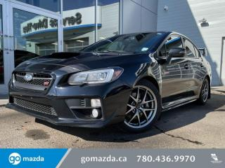 Used 2015 Subaru WRX SPORT TECH - LEATHER, NAV, BLUETOOTH, BACK UP CAM, 6SPD for sale in Edmonton, AB
