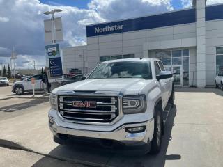 Used 2018 GMC Sierra 1500 SLT CREWCAB/NAV/LEATHER/SUNROOF/BACKUPCAM/20'S/CLASSIC/ for sale in Edmonton, AB