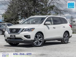 Used 2017 Nissan Pathfinder Platinum|DVD|Navi|Roof|One Owner| for sale in Bolton, ON