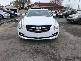 Used 2015 Cadillac ATS Luxury AWD for sale in Hamilton, ON