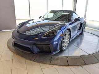 Used 2020 Porsche 718 Spyder CPO | Ext. Warranty | Ceramic Brakes | Extended Leather | No Accidents for sale in Edmonton, AB