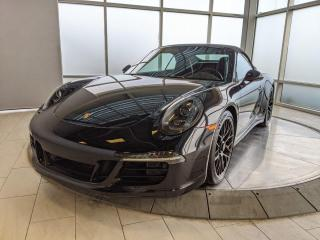 Used 2015 Porsche 911 Carrera 4 GTS | Cabriolet | CPO | Ext Warranty | Premium Plus | Sport Exhaust for sale in Edmonton, AB