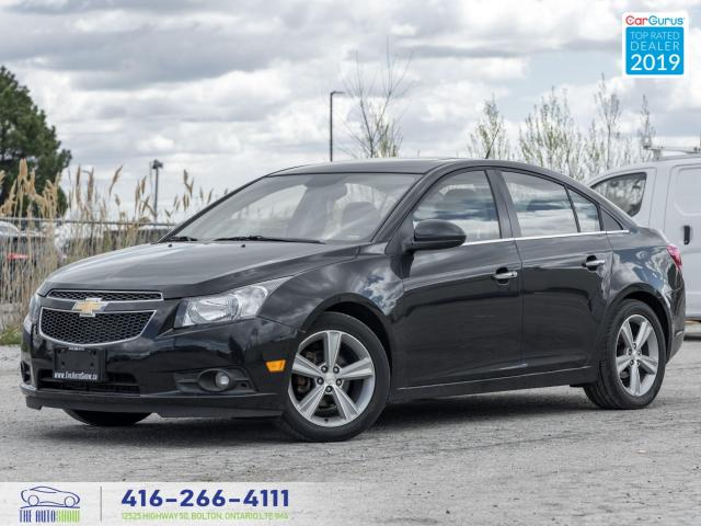 2012 Chevrolet Cruze LTZ Turbo w/1SA|Leather|Roof|Heated seats|
