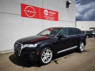 Used 2018 Audi Q7 Q7 / Technik / AWD / Loaded / Used Audi Dealership for sale in Edmonton, AB
