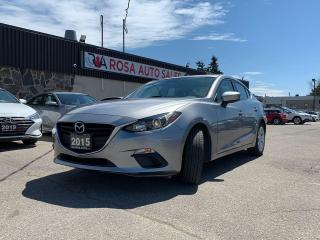 Used 2015 Mazda MAZDA3 4dr Sdn Auto GS NAVIGATION  SAFETY CAMERA BLUETOOT for sale in Oakville, ON
