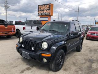 Used 2002 Jeep Liberty LIMITED*LEATHER*ROOF*ONLY 133KMS*AS IS SPECIAL for sale in London, ON