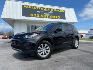 Used 2019 Land Rover Discovery Sport SE AWD Sport Luxury! Backup Camera! Navigation! Leather! for sale in Kingston, ON