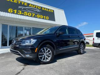 Used 2019 Volkswagen Tiguan Comfortline Leather! AWD! Heated Seats! Power Hatch! for sale in Kingston, ON