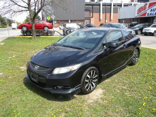 Used 2013 Honda Civic EX-L ~ LEATHER ~ NAV ~ REAR CAM ~ SUNROOF ~ SAFETY for sale in Toronto, ON