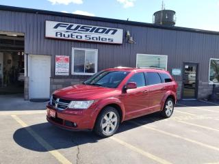 Used 2011 Dodge Journey Crew-REMOTE START-REAR CAMERA-HEATED SEATS- for sale in Tilbury, ON