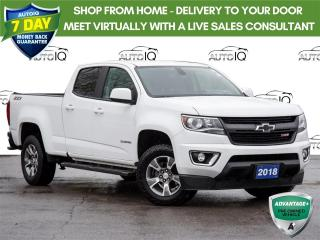 Used 2018 Chevrolet Colorado Z71 NAVIGATION SYSTEM | CLEAN CARFAX | REMOTE STARTER for sale in St Catharines, ON