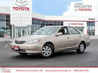 Used 2006 Toyota Camry LE | V6 | LOW KM | CLEAN CARFAX for sale in Ancaster, ON