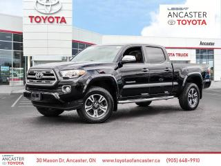 Used 2016 Toyota Tacoma Limited | Leather | Push Button | Moonroof for sale in Ancaster, ON