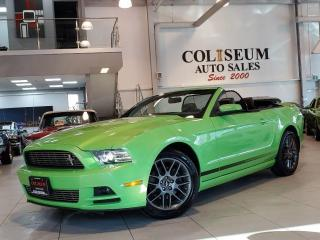 Used 2013 Ford Mustang V6 PREMIUM-CONVERTIBLE-CLUB OF AMERICA-LOADED for sale in Toronto, ON