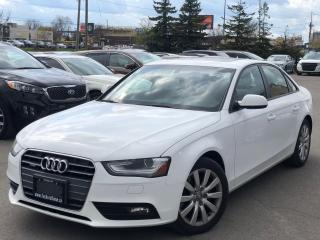 Used 2014 Audi A4 Komfort|Quattro|Heated seats|Sunroof| for sale in Bolton, ON