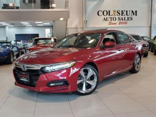Used 2018 Honda Accord TOURING-NAVI-HUD-CAMERA-LEATHER-SUNROOF-LOADED for sale in Toronto, ON