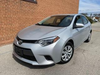 Used 2016 Toyota Corolla 11,977 K KM ONLY / SAFETY AND WARRANTY / CAMERA, for sale in Oakville, ON