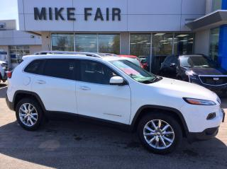 Used 2016 Jeep Cherokee Limited Cruise Control, Dual Zone Front Climate Control, UBS Connection for sale in Smiths Falls, ON
