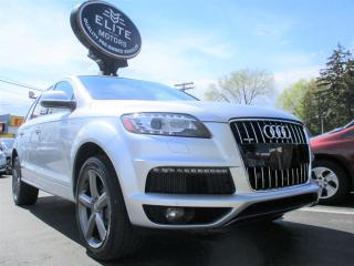 Used 2015 Audi Q7 quattro 4dr 3.0L TDI Vorsprung Edition for sale in Burlington, ON