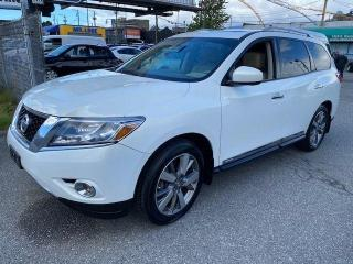 Used 2013 Nissan Pathfinder PLATINIUM for sale in Vancouver, BC