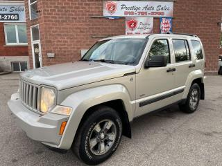 Used 2008 Jeep Liberty Sport/4X4/3.7L/NO ACCIDENTS/SAFETY INCLUDED for sale in Cambridge, ON