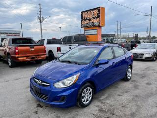 Used 2012 Hyundai Accent GL*AUTO*4 CYLINDER*GREAT ON FUEL*ONLY 138KMS*CERT for sale in London, ON