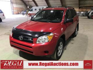 Used 2008 Toyota RAV4 Base 4D Utility 4WD for sale in Calgary, AB