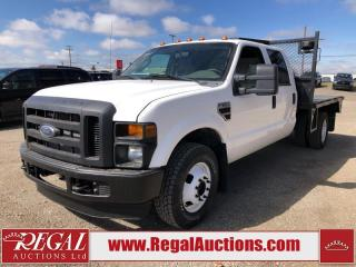 Used 2008 Ford F-350 XL CREW FLAT DECK 2WD for sale in Calgary, AB