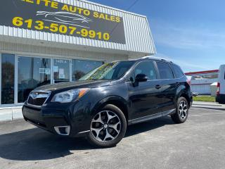 Used 2014 Subaru Forester 2.0XT Touring AWD! Alloy Wheels! Heated Seats! Leather! Panoramic Sunroof! for sale in Kingston, ON