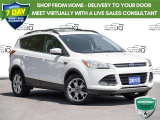 Used 2013 Ford Escape SEL Affordably Priced  |  Sunroof  |  Leather for sale in St Catharines, ON
