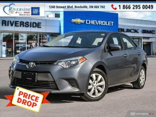 Used 2016 Toyota Corolla LE for sale in Brockville, ON