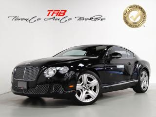 Used 2014 Bentley Continental GT COUPE I W12 I MULLINER PKG I NAVI I 20 IN WHEELS for sale in Vaughan, ON