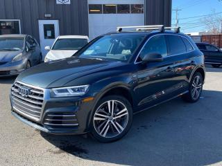 Used 2018 Audi Q5 2.0T Technik S-LINE  LEATHER  PANO ROOF  B&O SOUND for sale in Ottawa, ON