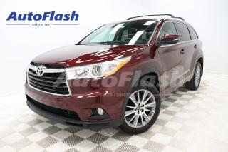 Used 2016 Toyota Highlander *XLE *8-PASSENGER *CUIR *CAMERA *TOIT-OUVRANT for sale in Saint-Hubert, QC